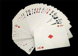 Modern Shuffle Master Casino Playing Cards Thick Paper Printing for Gambling House